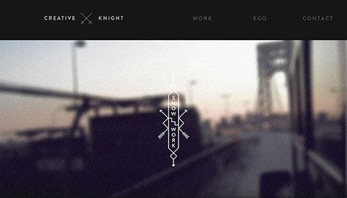 网页设计欣赏:creative-knight-20