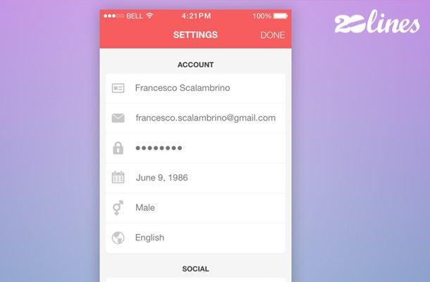 clean iphone 20lines app settings