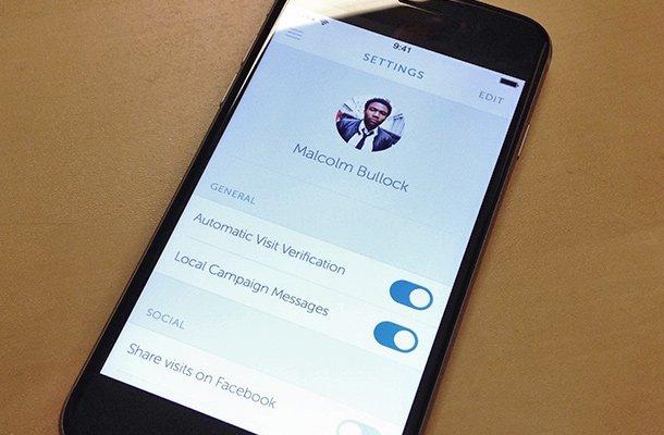 iphone profile app settings menu