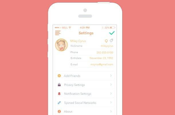 white iphone app ui design minimalism