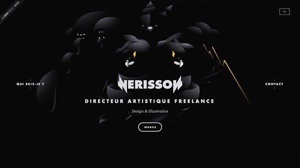 网页设计欣赏:Nerisson