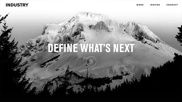 网页设计欣赏:INDUSTRY