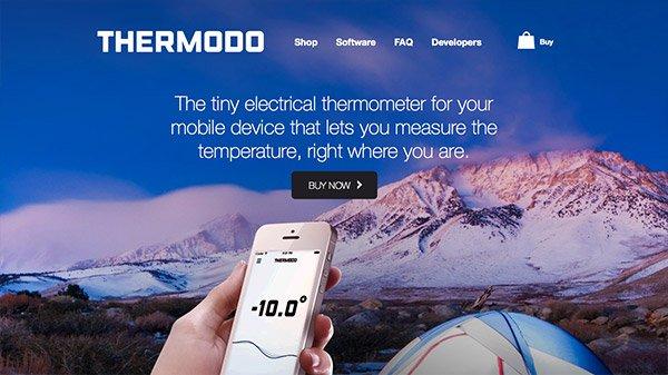 网页设计欣赏:Thermodo