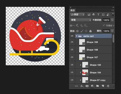 25个多彩的扁平化圣诞节图标素材下载