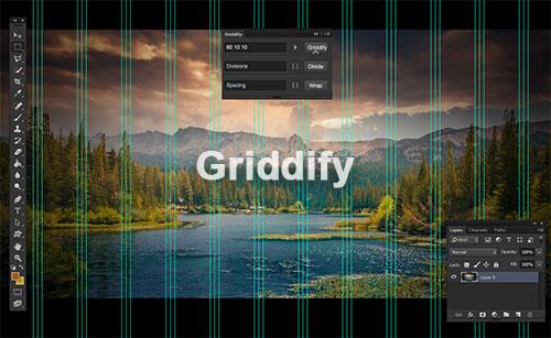 Griddify – 快速生成Photoshop参考线扩展工具