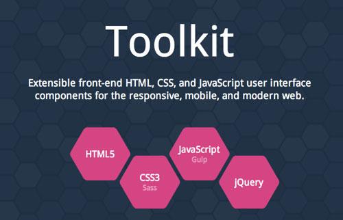 Toolkit:比Bootstrap更多实用UI组件的前端框架