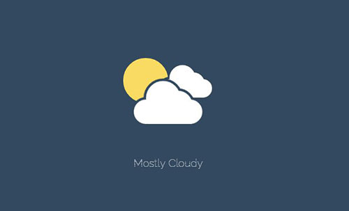 animated weather icons howto code