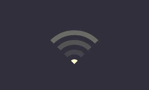 animated wifi lines symbol css3