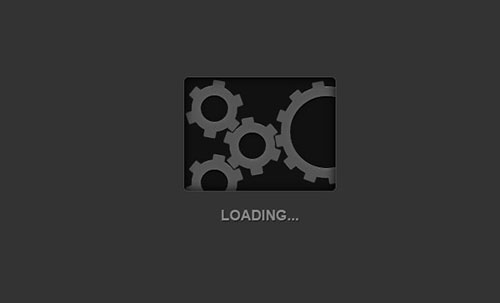 moving css3 gears icon style