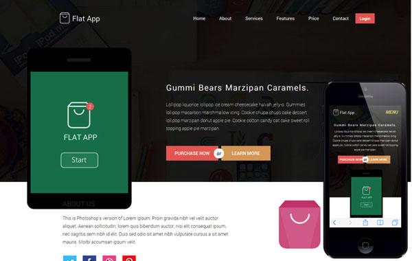 HTML5网站模板-1