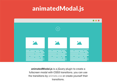 animated-modal-jquery-plugin