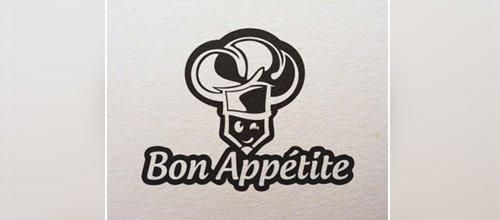 bon appetite chef logo