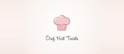 chef hat treats logo