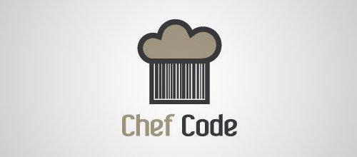 chef hat code logo