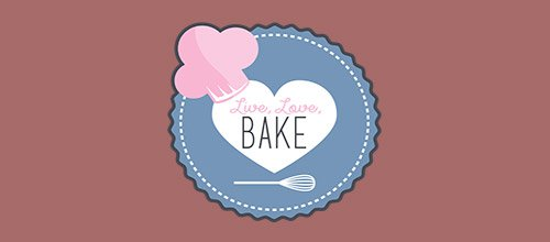 bake 餐饮logo