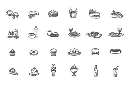 美食食品图标