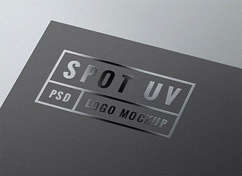Spot UV 标志模板