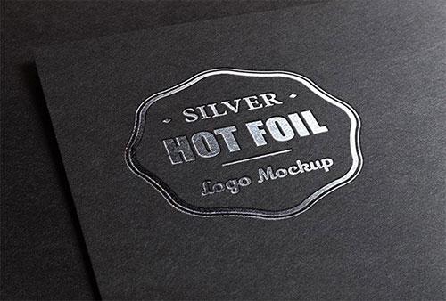 Silver Stamping Logo LOGO素材