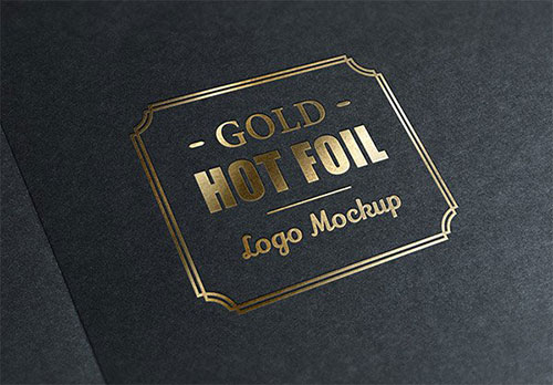 Gold Stamping Logo 展示模板