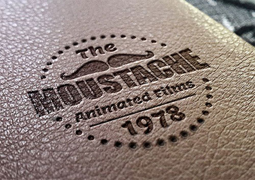 Leather Stamping LOGO素材