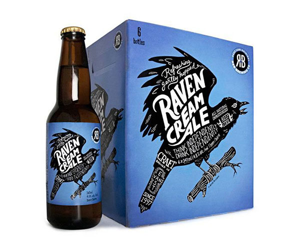 Raven Cream Ale/R&B Brewing by Saint Bernadine Mission Communications Inc.