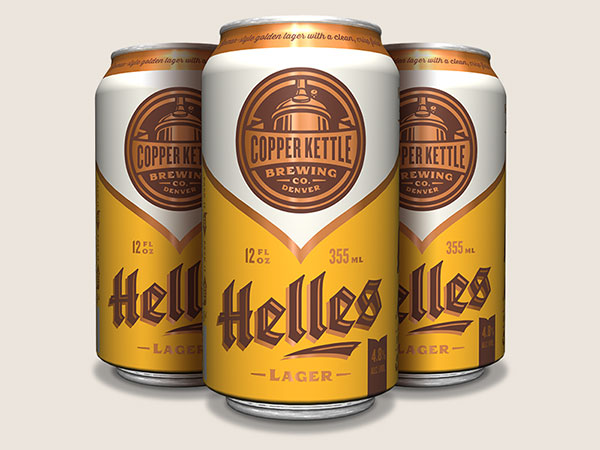Copper Kettle Helles by Emrich Office