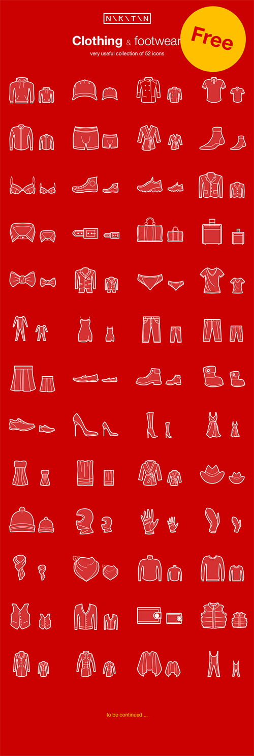clothing-and-footwear-icons