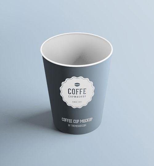 Free PSD Plastic Cup Mockup