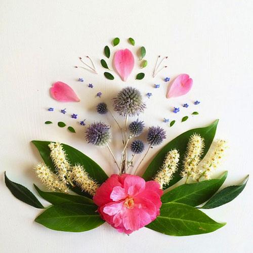 花草艺术创意作品-1