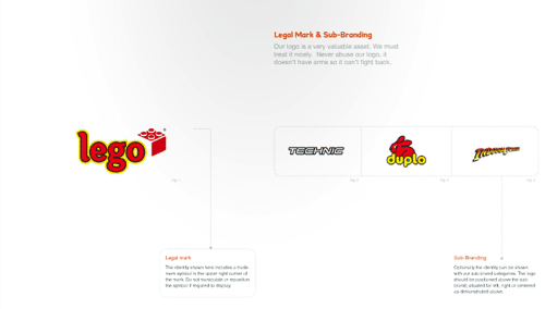 LEGO 视觉设计规范