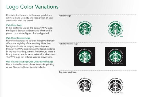 星巴克 视觉设计规范