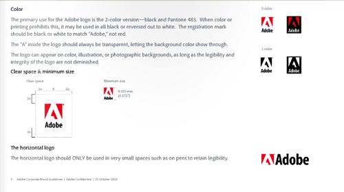 adobe公司视觉设计规范
