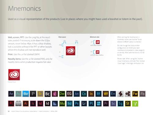 Adobe Creative Cloud 视觉设计规范