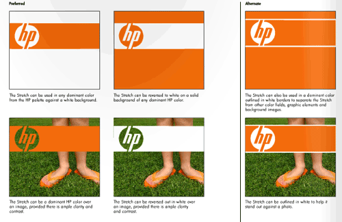 HP 视觉设计规范