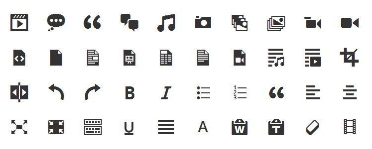推荐设计师使用的50套图标字体