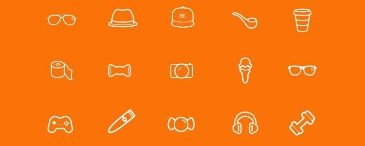 图标字体我们在2013年初的时候发布过《30个免费网页图标字体以及使用方法》,现在已经过去2年多,又有很多新的图标字体或更新了版本,今天我们为设计师推荐50套图标字体,种类和风格多样化,快去挑选一款合适的图标字体在你的APP UI或是网页设计项目使用吧! Icon font 是以图形为主的字体文件,目前流行用在Web端,使用图标字体是有很多好处的,比如节约设计时间、图标放大不失真,其次比使用icon font会比SVG图片要快10%,详细可查看《icon fonts are 10% faster than