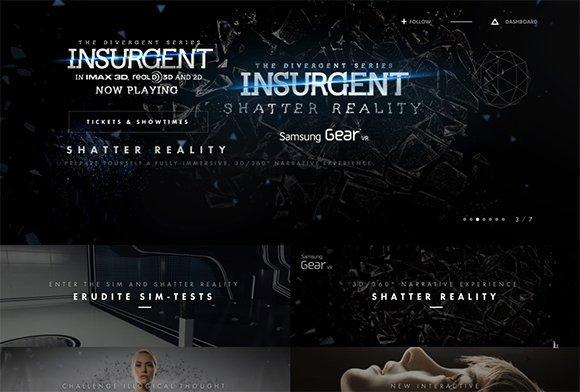 电影网站设计欣赏
