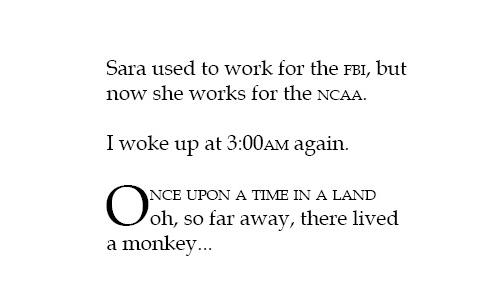 《字体运用的18条规则》