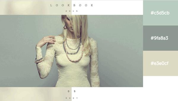 2015年配色优秀的20个网页设计作品 含配色方案
