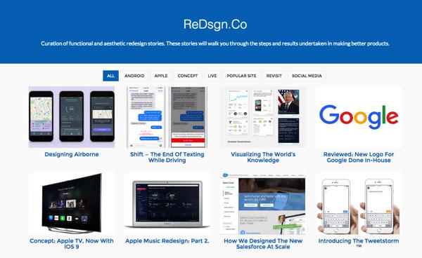 redsgn.co 网站改版