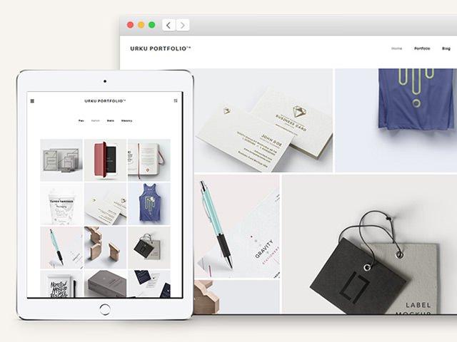 20款漂亮的HTML网站模板和小组件