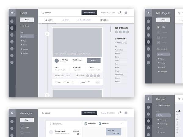 26款高品质 APP UI原型设计灵感