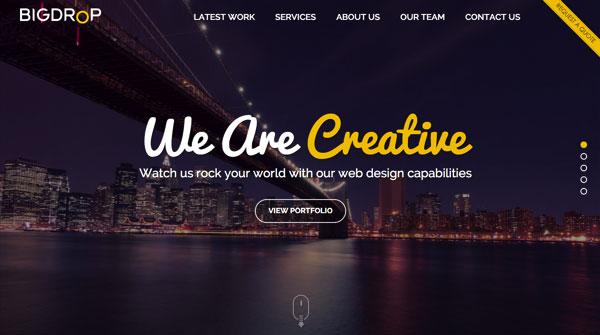 国外网站设计