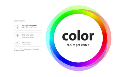 6个可以测试色感、色盲的在线游戏