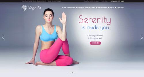 20个活力充沛的体育健身网站 WP 主题