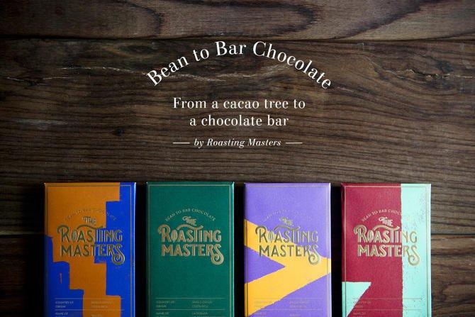 一家韩国咖啡品牌与包装设计(Roasting Masters)