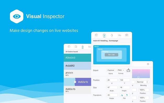 视觉化查看网页样式及标注- Visual Inspector Chrome扩展