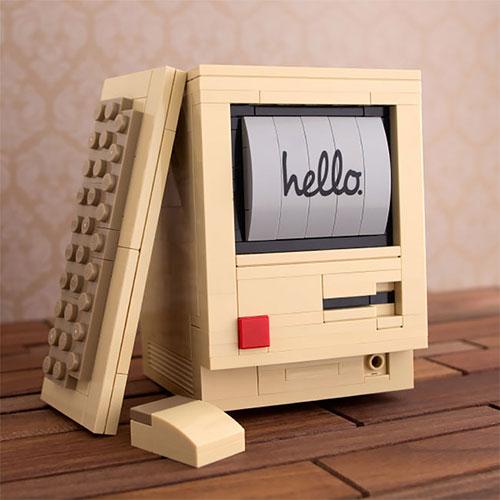 80后最爱,LEGO 怀旧桌面套装