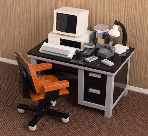 LEGO 办公桌面套装