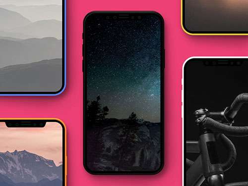 假 iPhone 8 Mockup 素材